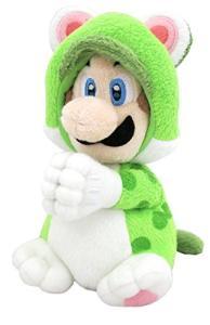 Nintendo Plüschfigur Luigi Katze Handmagnet (19cm) für 9,85€ (Amazon Prime)