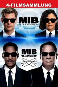 [iTunes] MIB 4 Movie Collection - Men in Black - 4K - Dolby Vision, Dolby Atmos