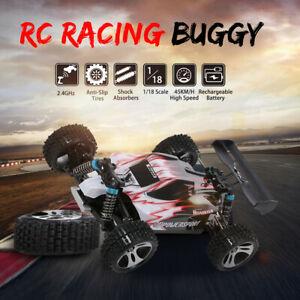 Wltoys A959 1/18 RC Car 2.4G 4WD 45km/h Racing Buggy