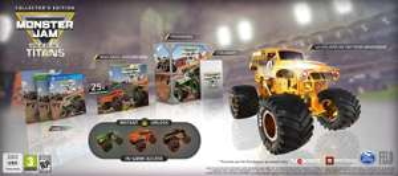 Monster Jam: Steel Titans Collector's Edition (Xbox One) für 33€ (Saturn & Amazon)