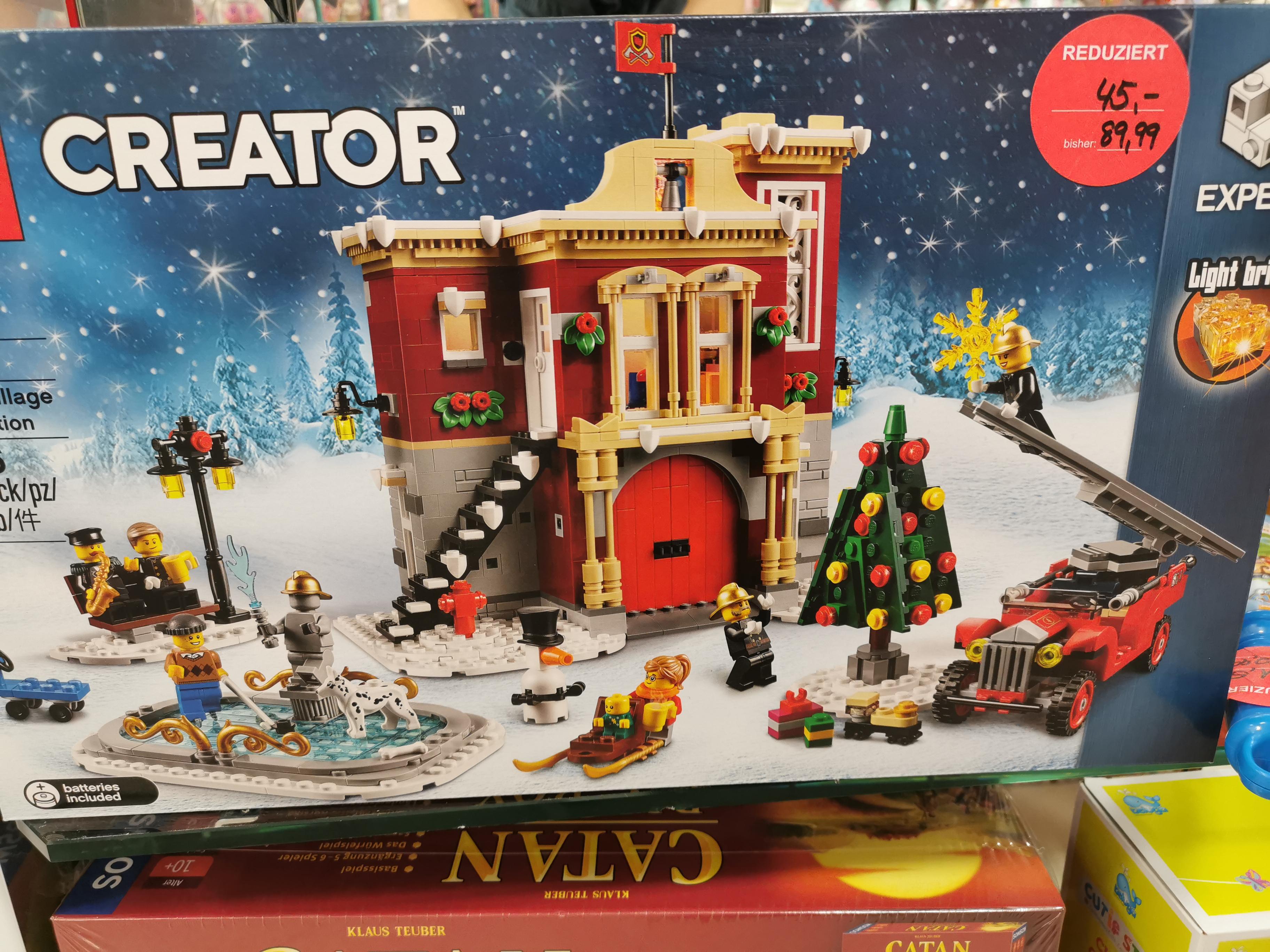 [Lokal Kolbermoor] Lego 10263 Winter Village Fire Station