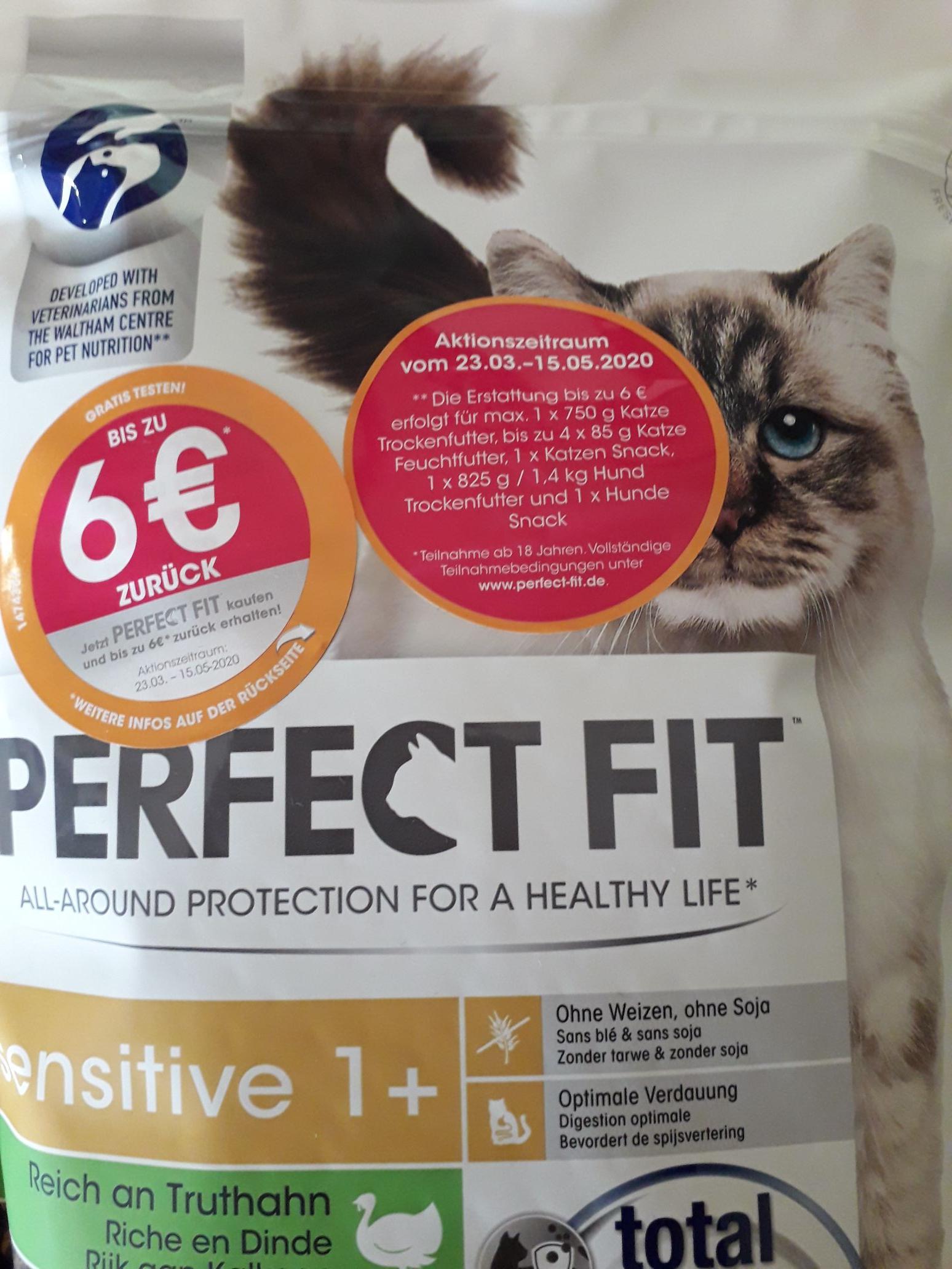 Gratis testen bis 6€ zurück auf Perfect Fit (ab 23.03.)