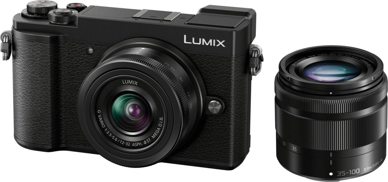 Panasonic Lumix GX9 MFT Systemkamera inkl. 12-32F3,5-5,6 & 35-100F4-5,6 Objektiv