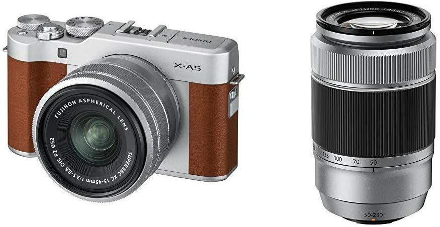 Fujifilm X-A5 Kit 15-45 mm + 50-230 mm (Amazon UK)
