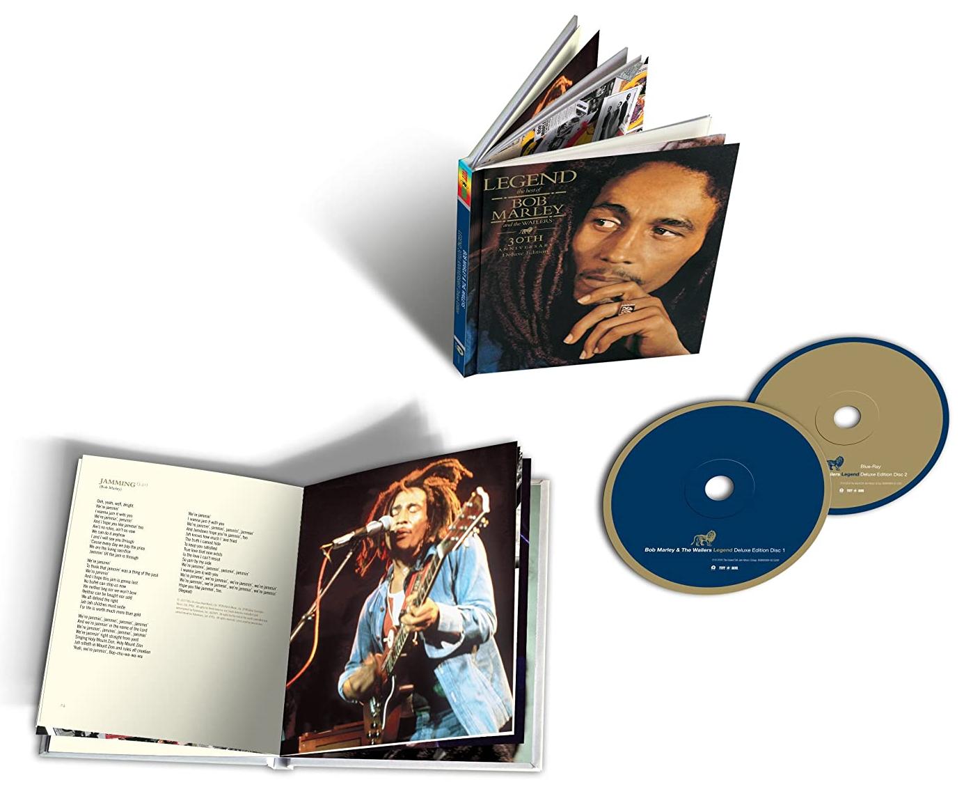 Bob Marley - Legend (Limited 30th Anniversary Edition) (CD + Blu-ray Audio) (Amazon)
