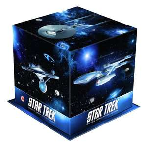 Star Trek: Films 1-10 Remastered Special Edition Box Set  BLURAY mit dt. Ton