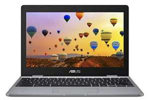 "Amazon - Asus Chromebook C223NA-GJ0014 Red Notebook 29.5 cm (11.6"") 1366 x 768 Pixels 1.10 GHz Intel Celeron N3350"
