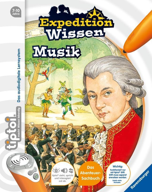 tiptoi® Expedition Wissen: Musik 2. Aufl. Grundschüler