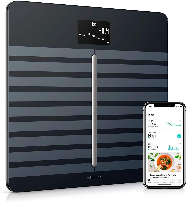 Withings / Nokia Body Cardio - WLAN-Personenwaage für Körperzusammensetzung & Herzgesundheit [Amazon]