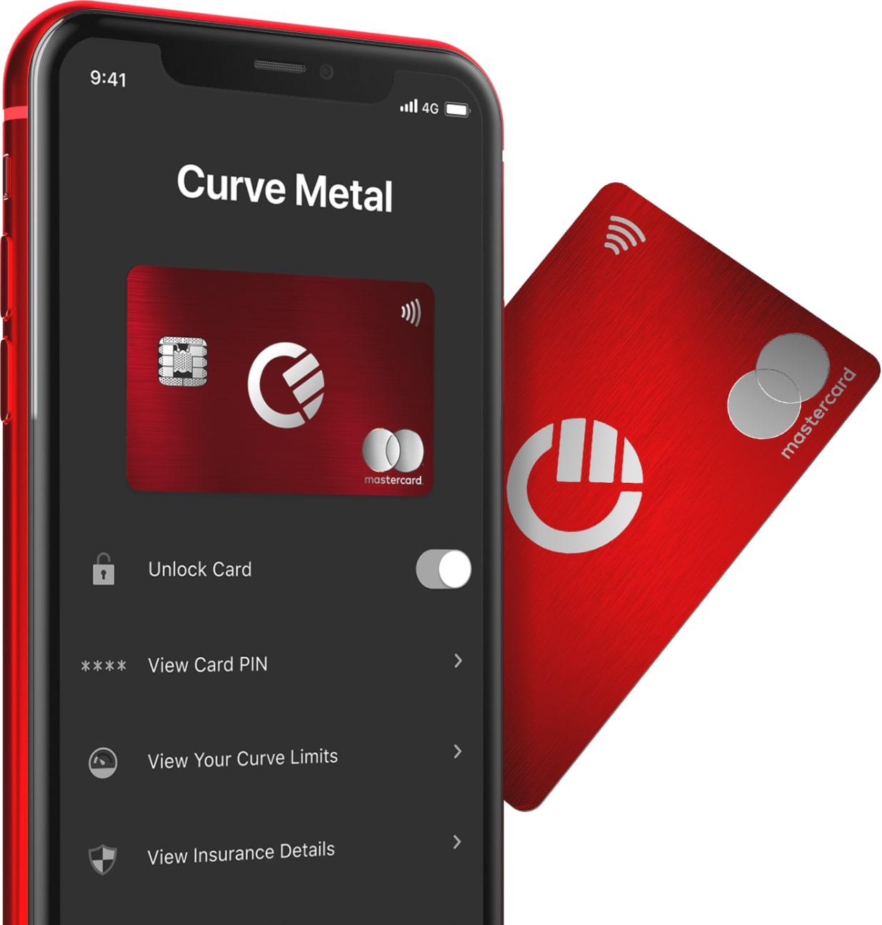 Kostenlose Curve Mastercard mit 15£ Guthaben für Neukunden