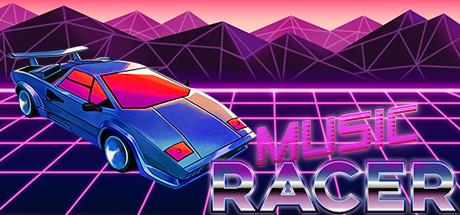 Music Racer (Steam-Key, Englisch, mit eigener Musik oder YouTube-Videos spielbar)