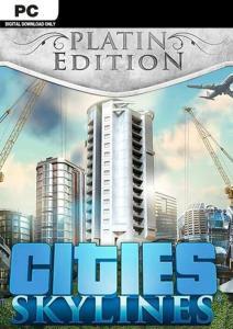 Cities: Skylines Platinum Edition (Steam) für 11,39€ (CDKeys)