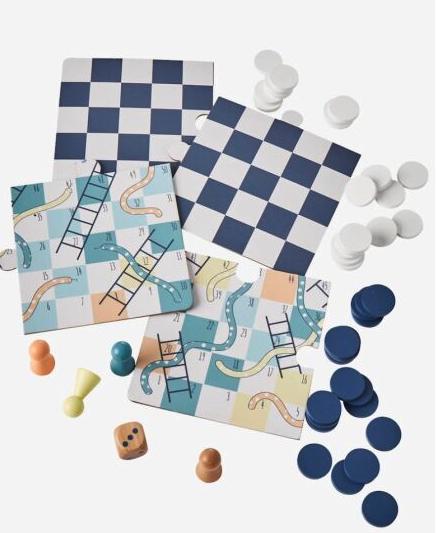 Brettspiel (Dame und Leiterspiel) für Kinder im Flash Sale + versandkostenfreie Lieferung bei [vertbaudet]