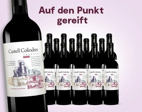 [Vinos] 15 Flaschen Castell Colindres Reserva 2016, Rotwein, trocken (3,30€/Flasche)