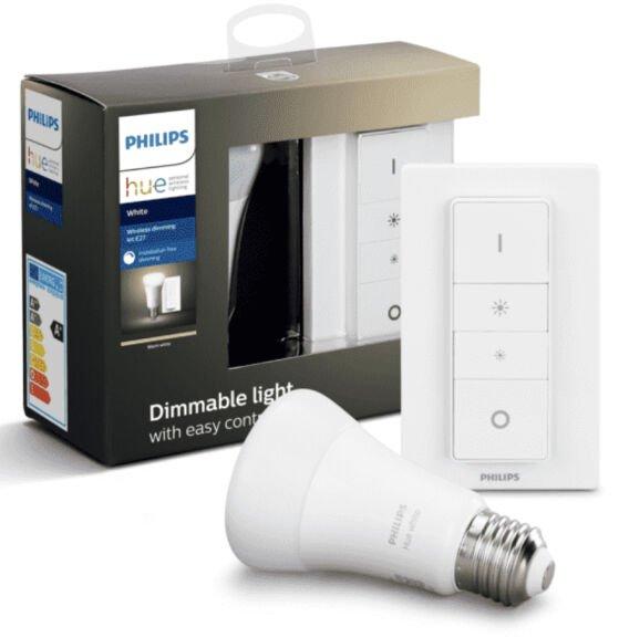 Philips Hue Dimmschalter + Leuchtmittel E27 warmweiß Bluetooth für zusammen 17,59€ inkl. Versandkosten [MediaMarkt Club]