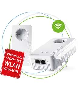 devolo Magic 2 WiFi Powerline Adapter + 3 GBit LAN (Preis nur mit Corporate Benefits)