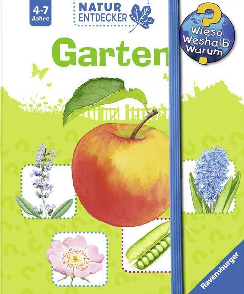 3 Natur Entdecker Bücher von Ravensburger (Garten / Blumen / Teich und Fluss) für je 3,99€