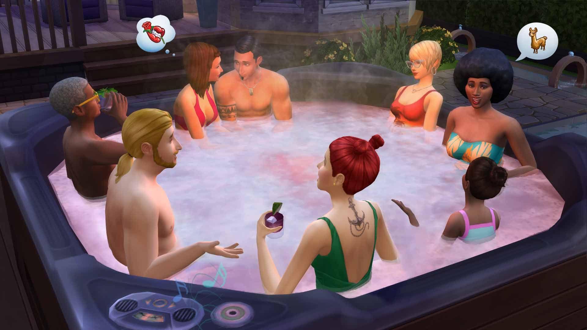 [Origin Access] Die Sims 4 - Sonnenterrassen-Accessoires DLC (PC Mac)