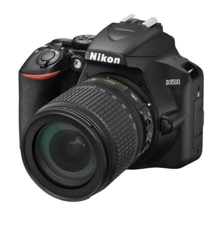 Expert: NIKON D3500 KIT AF-S DX 18-105VR Spiegelreflexkamera (24,2 MP, Full-HD, ISO von 100 bis 25 600 )