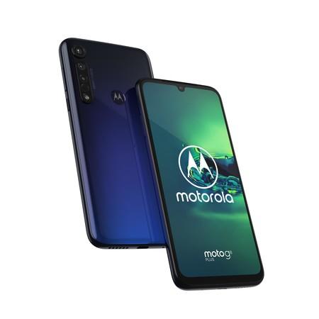 [expert] Motorola One G8 plus, Dual-SIM, blau (SD 665, 6,3 Zoll, 64 GB, 4.000 mAh, 48 MP)