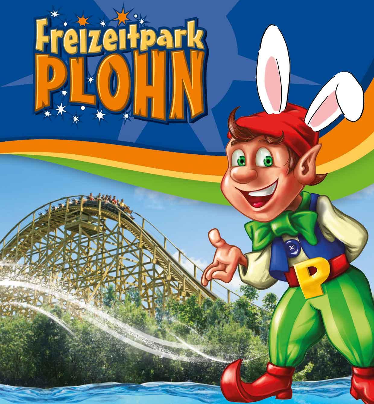 Freizeitpark Plohn Tageskarte Oster-Special (Erwachsene)