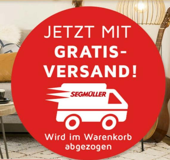 Möbel versandkostenfrei im Online-Shop von Segmüller bestellen