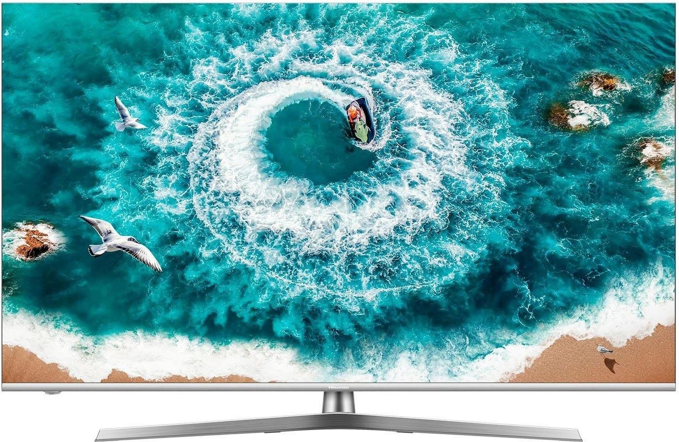 "Home Office bei MediaMarkt: z.B. Hisense H55U8B (55"", VA, UHD, Edge-LED + Local Dimming, 120Hz, 8bit+FRC, 450cd/m², Dolby Vision, VIDAA U)"