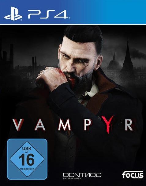 Vampyr (PS4) für 14,99€ versandkostenfrei (Media Markt)