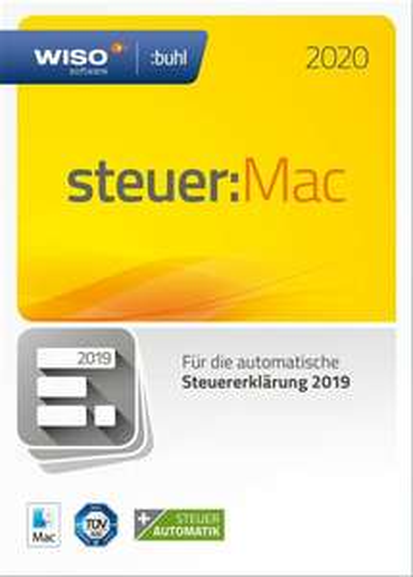 WISO steuer:Mac 2020 inkl. CD für 17,86€ [eBay-Saturn]