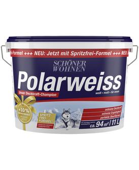 [Hagebau online] Wandfarbe Schöner Wohnen Polarweiss 11 Liter