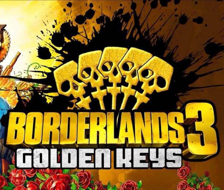 3 Goldene Schlüssel kostenlos für Borderlands 3 (PC/Stadia/Xbox/PS4)