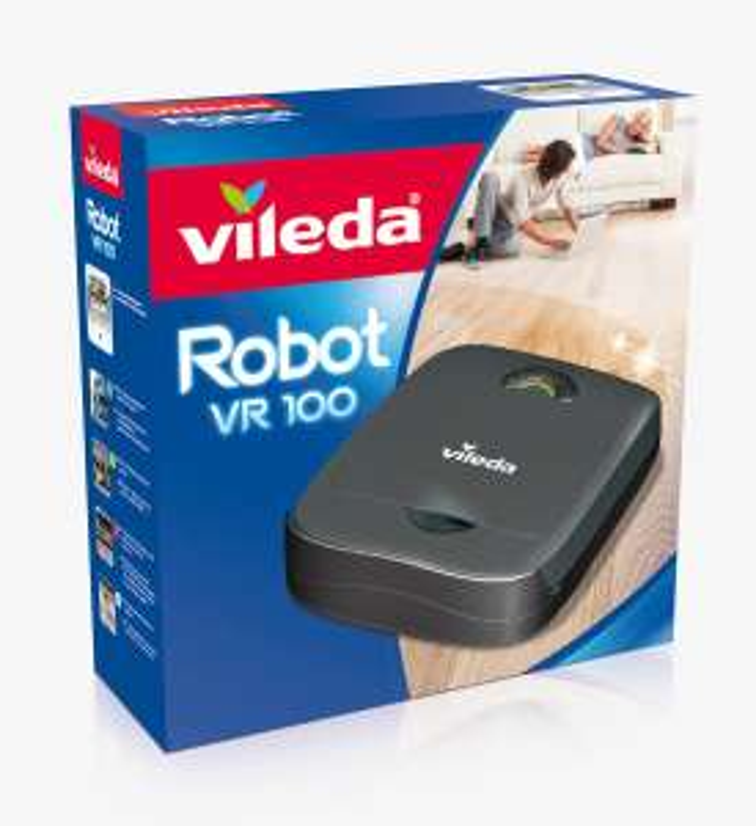 Vileda VR 100 Robot Saugroboter Schwarz