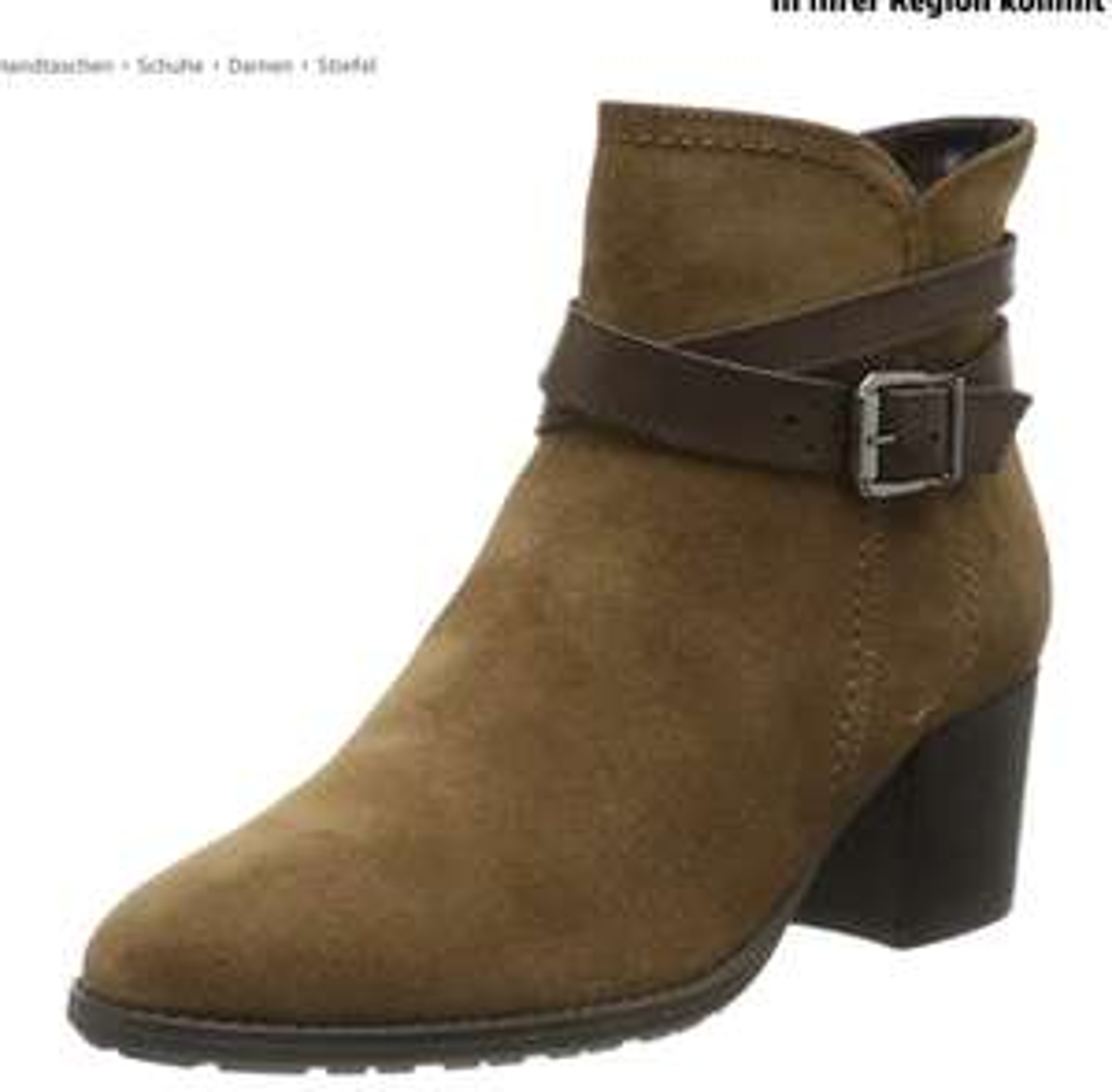 ( Amazon Prime ) div.Größen und Farben Tamaris Damen Leder Stiefeletten
