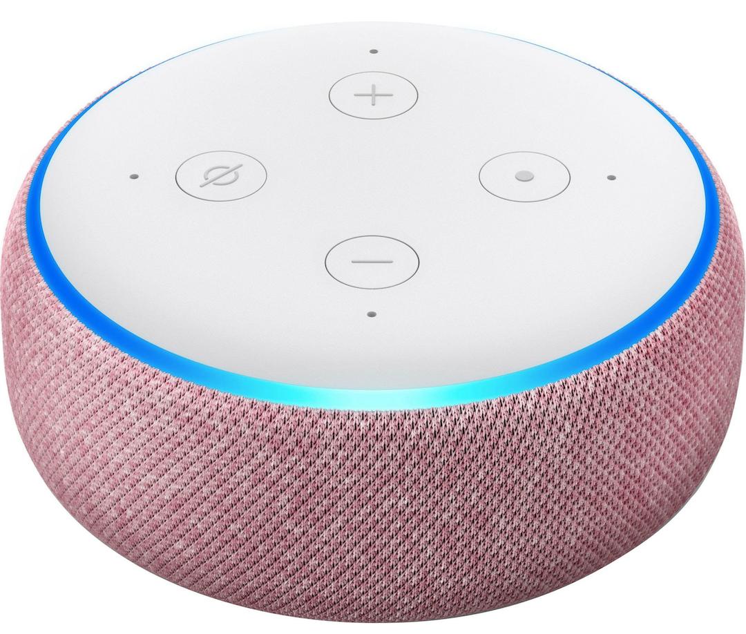 lila Amazon Echo Dot (3. Generation) - Alexa - 3 Wochen Lieferzeit