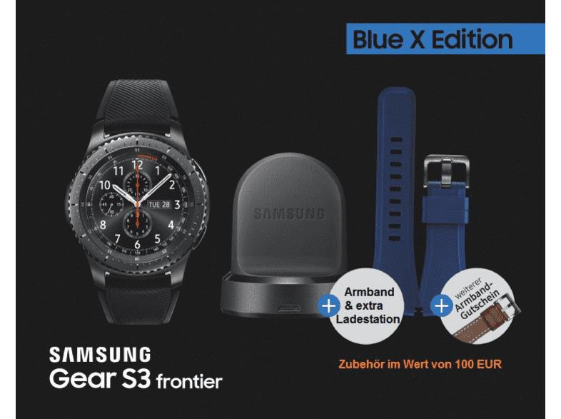 Samsung Gear S3 frontier Blue X Edition