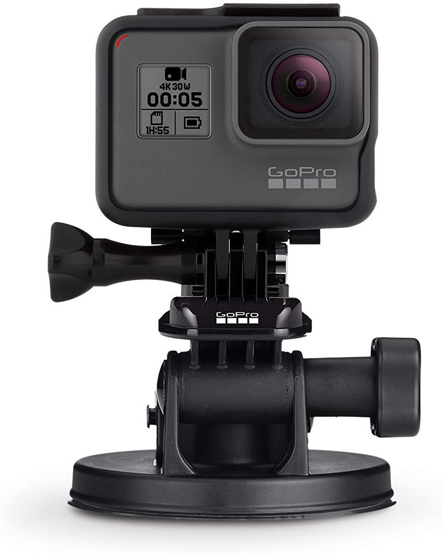 GoPro Saugnapf-Kamerahalterung (AUCMT-302) für 21,90 € [Amazon Prime]