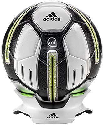 Adidas MiCoach Smart Ball (App, Bluetooth, integriere Sensoren, 32 Außenpaneele TPU, Größe 5)