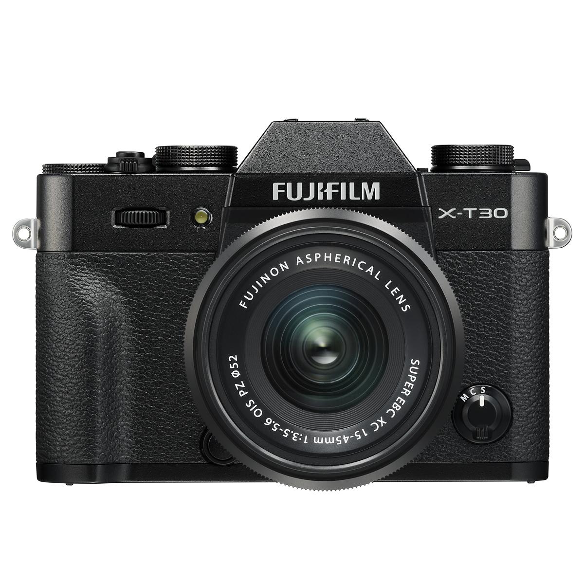 FUJIFILM X-T30 Systemkamera Kit FUJINON XC15-45mmF3.5-5.6 OIS P [ Foto-Partner ProShop GmbH ]