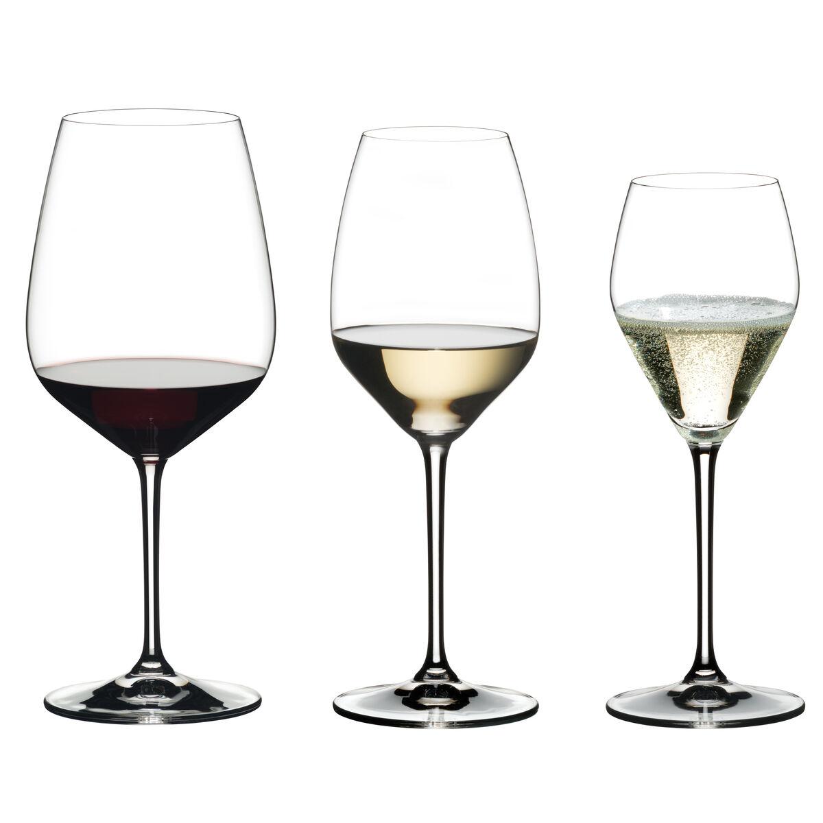 Riedel Extreme Weinglas Set 4x Rotwein 4x Weißwein 4x Sekt