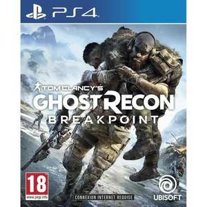 Tom Clancy's Ghost Recon: Breakpoint (PS4) für 13.01€ (Cdiscount)