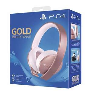 Sony PlayStation Gold Wireless Headset - Rose Gold (Cdiscount)