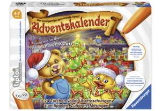 ( antizyklisch) Ravensburger Tiptoi Adventskalender 00840 Weihnachtswerkstatt