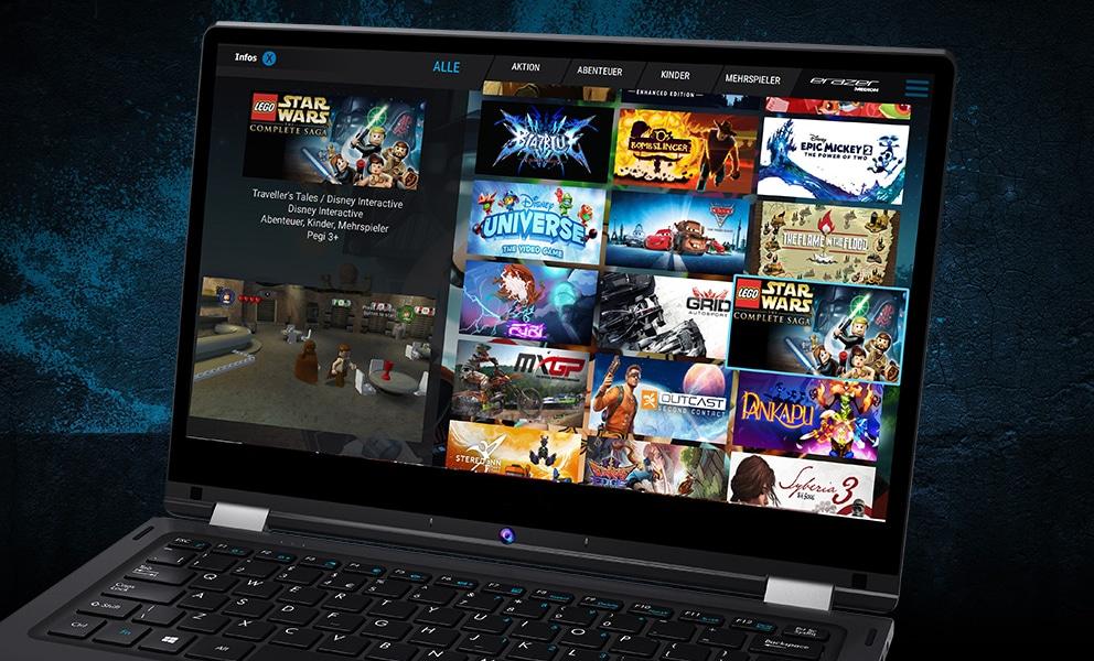 Medion Erazer Cloud Gaming Beta einen Monat lang kostenlos nutzen (Spiele inklusive, 720p, keine Kündigung erforderlich)