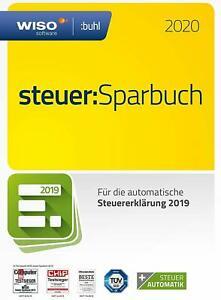 WISO steuer:Sparbuch 2020 (für 2019) mit CD für 18,90€ mit Versand [ebay]