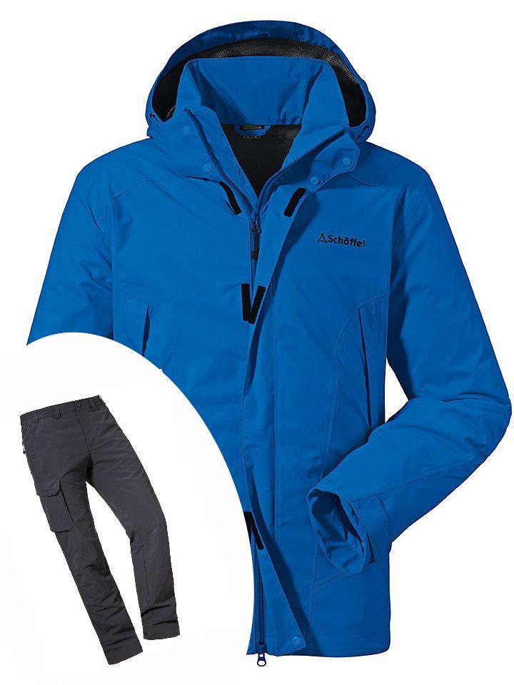 """Outdoor- & Funktionskleidung von Schöffel bei Limango im Sale / z.B. Schöffel Regenjacke """"Easy L3"""" in Blau"""