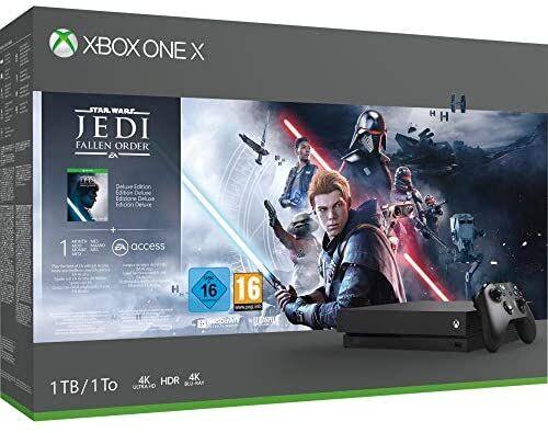 Xbox one x 1 Tb Star Wars Jedi: fallen order