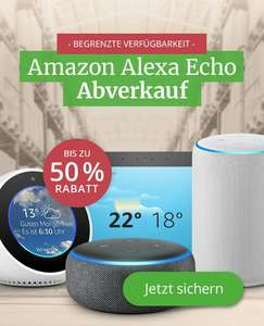 Amazon Echo Angebote / Echo Plus 2.Gen. 109,99€/Echo Spot 69,99€/Echo Show 2.Gen 174,99€/Versandkostenfrei