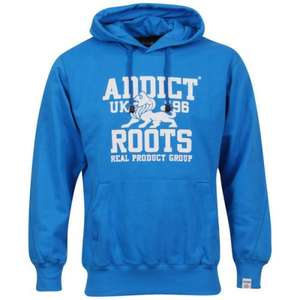 Addicts Men's Roots Hoody - Blue