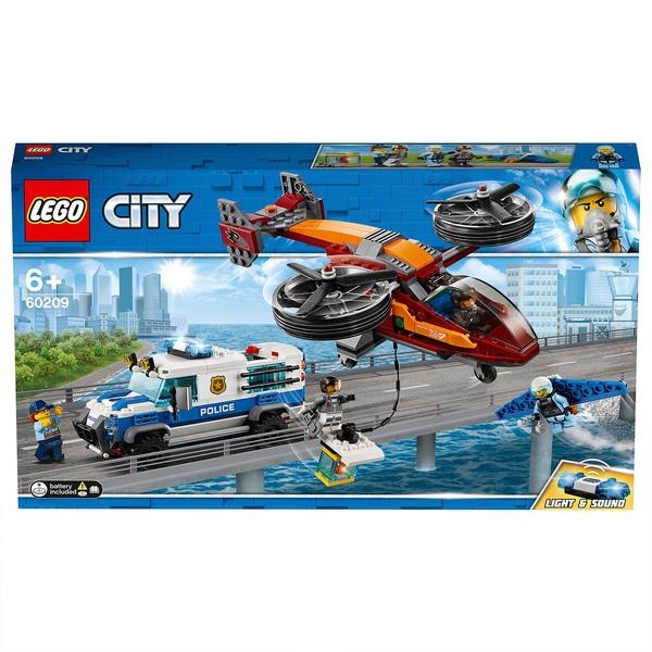 LEGO City - Polizei Diamantenraub (60209) für 29,99 € [smythstoys.com]