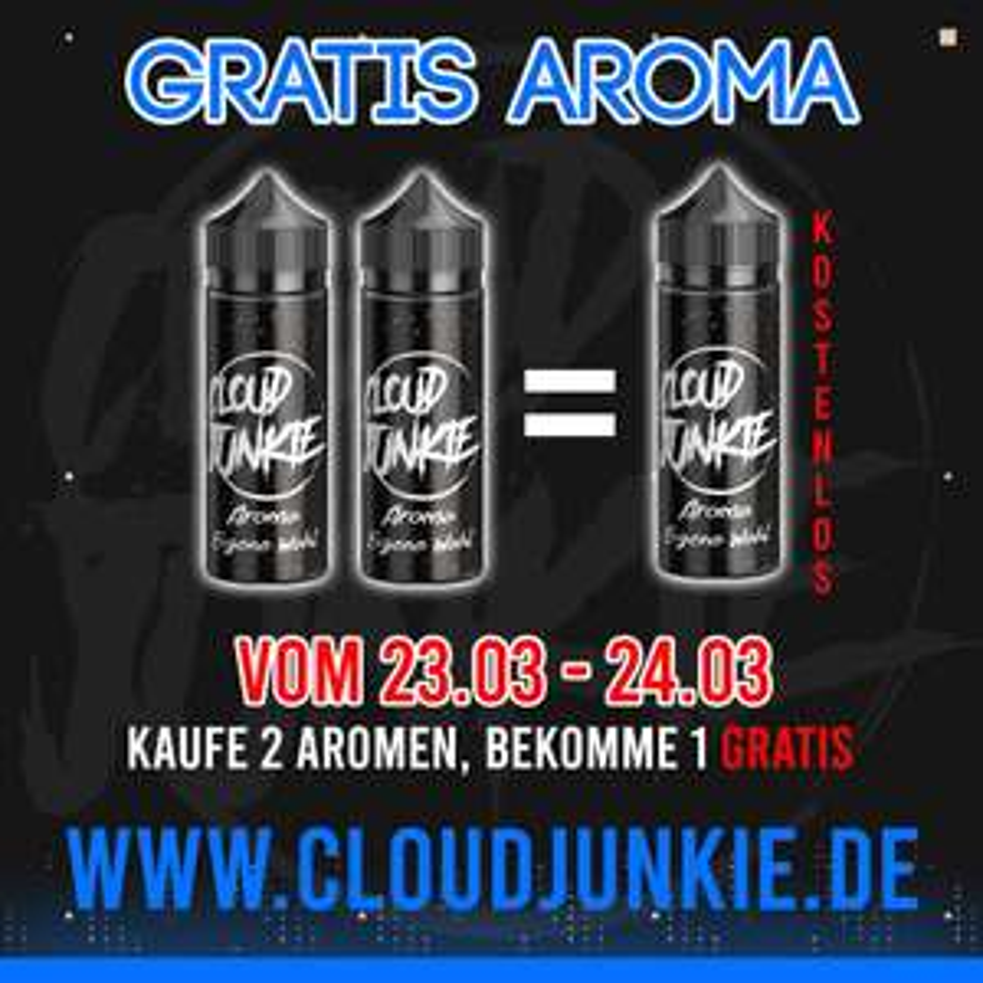 Cloudjunkie Aromen: Nimm 3, bezahle 2!